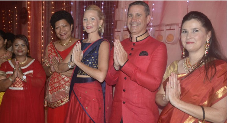 Westpac Bank Celebrates Diwali With West Clients