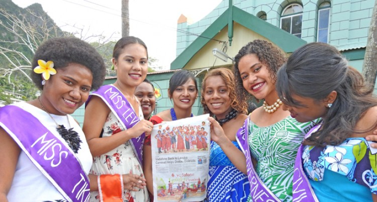 11 Young Women In Vodafone Back To Levuka Carnival