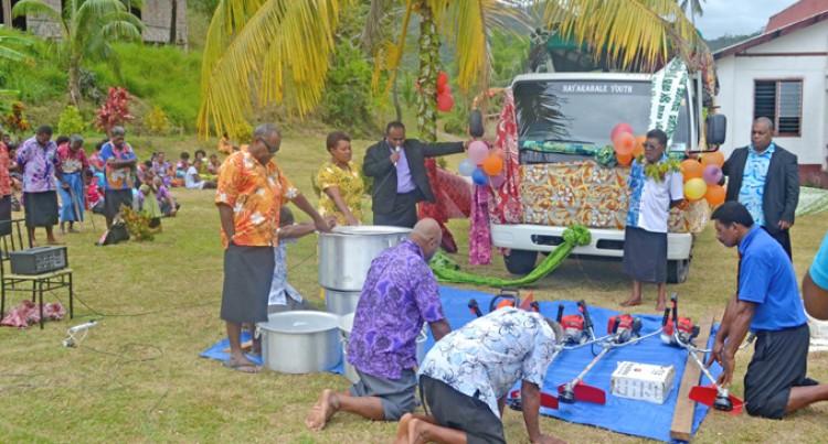 Village Welcomes First Truck