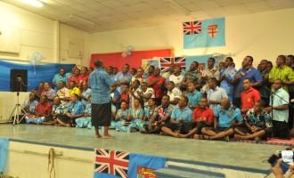 Peacekeepers In Golan Celebrate Fiji Day
