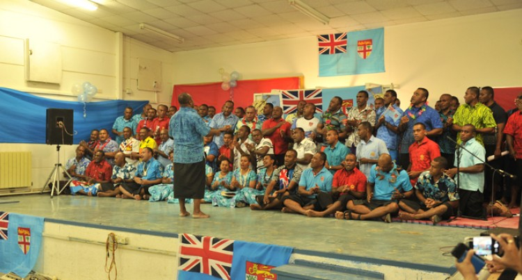 Peacekeepers In Golan Celebrate Fiji Day