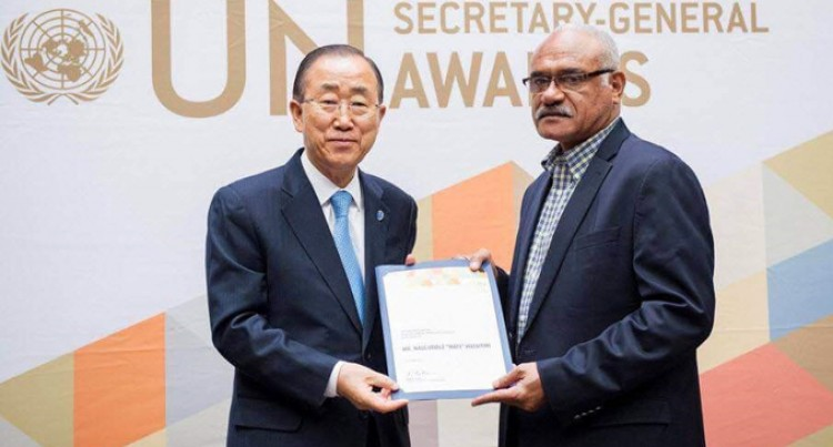Mataitini Gets Top UN Award
