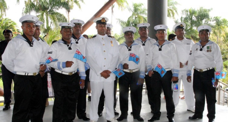Tongan Navy Join In Celebrations