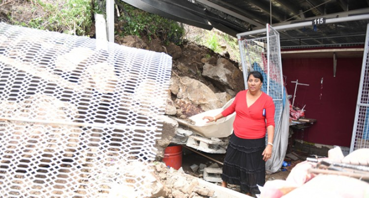 Vendors Counting Losses  In Flea Market Landslide