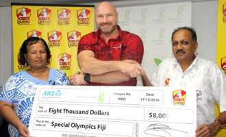 Boost For Special Olympics