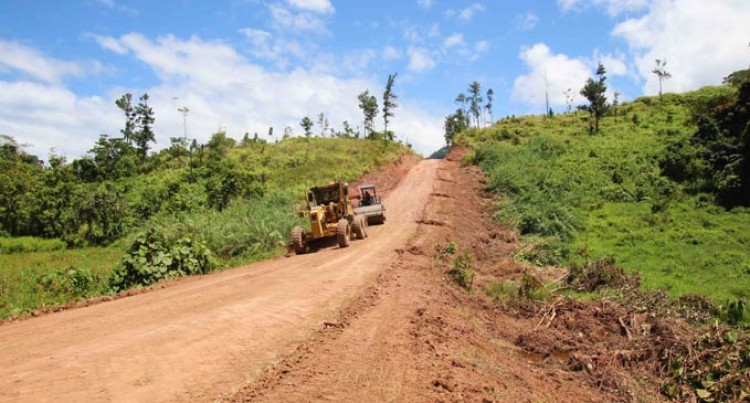 Vanuavou Cocoa Road Upgraded