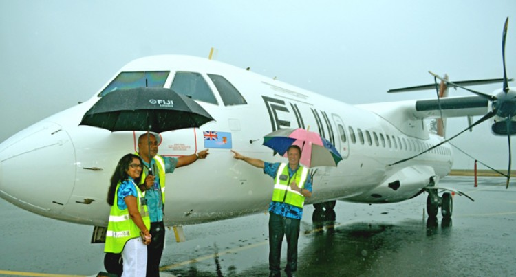 Fiji Airways Unveils Our Flag On Fleet