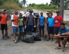 Volleyball Players Clean Up Communities