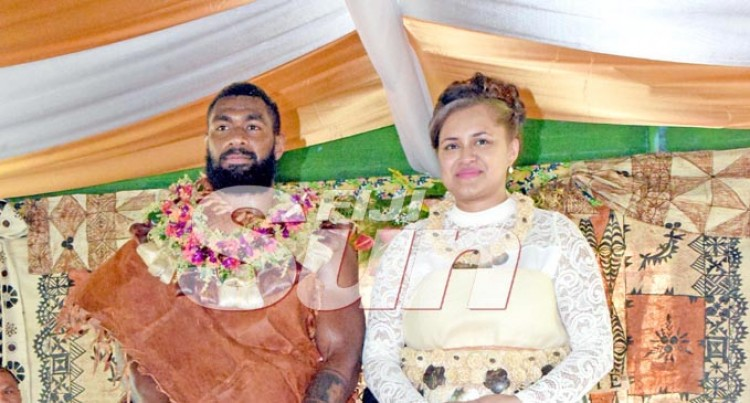 Rugby Star Koroibete Weds Whippy At Village