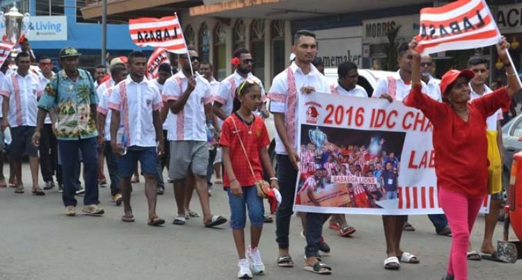 Babasiga Lions Celebrate