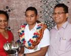 Swimming Award For Eugene Kado