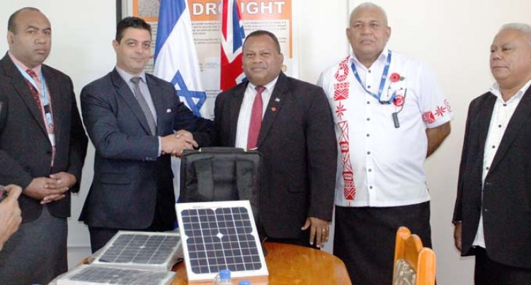 Israel Hands Over 12 Generators