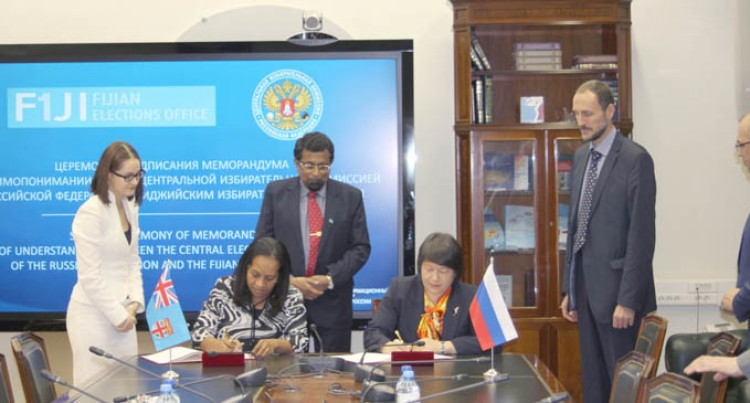 Elections MOU Signed In Moscow