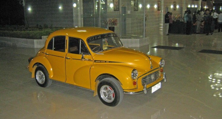 Chand Gets Inspired By Late Tourism Icon, Dick Smith, Restores Morris Minor