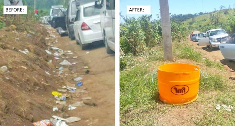FMF Foods Ltd Donates Rubbish Bins To Natadradave Village