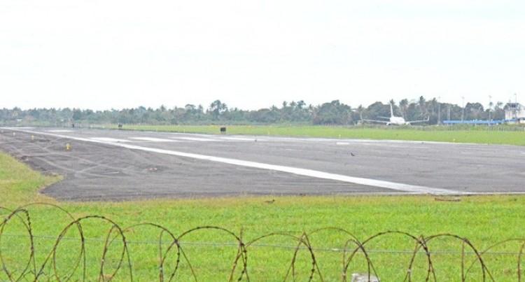 Works For Nausori Runway In Progress