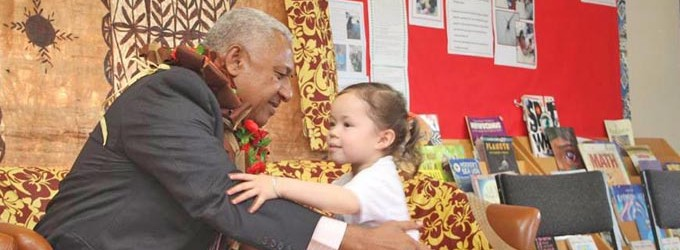 PM Visits Bula Kindergarten