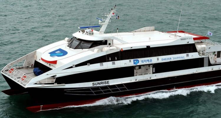 Fast Ferry For Fiji