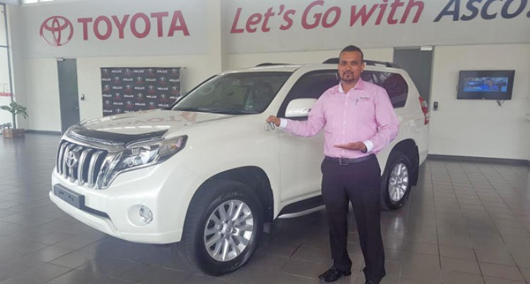 Test The Credible Land Cruiser Prado From Asco