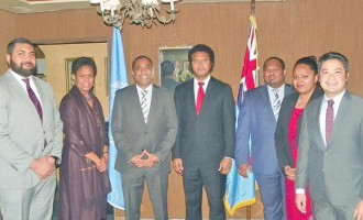 Mission In New York  Celebrates With UN Family