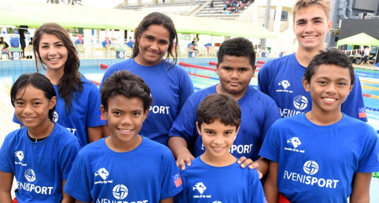 Samoa Swimmers Provide Test In Suva