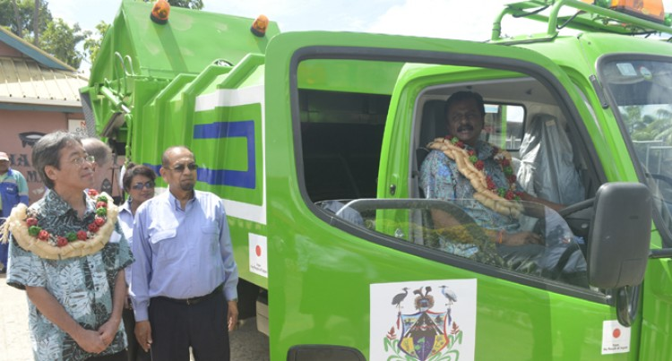New Garbage Truck for Town Council