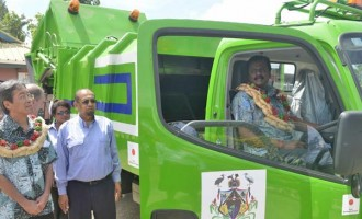 Nadi Town Council Receives New Garbage Compactor