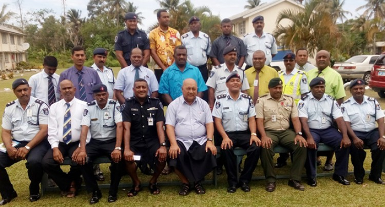 Ratu Inoke Takes Tour Of The Fiji Police Force