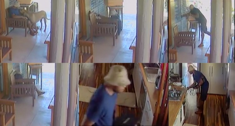 $3000 Worth CCTV Camera Records  Daylight Burglary At Lautoka Home