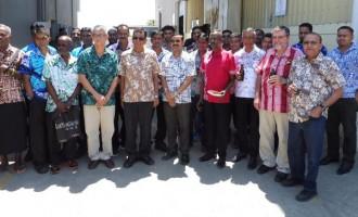 Vinod Patel Manufacturing Division Awards Long Serving Staff Members