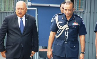 Kubuabola Pays Commissioner Of Police A Courtesy Visit