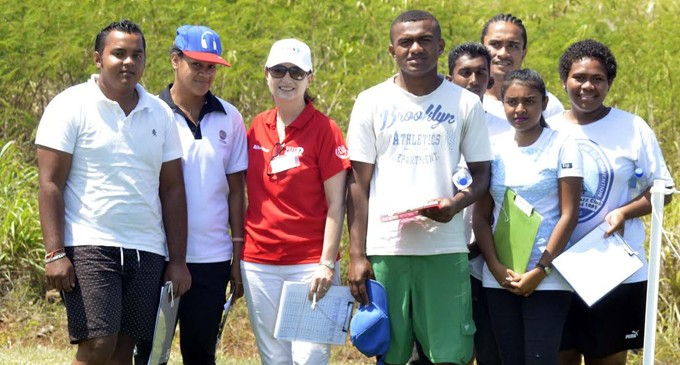 Houston leads day one of Fiji International