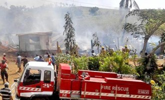 Fire Leaves Seven Homeless