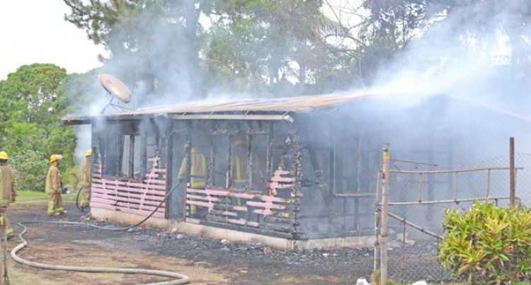 Sugar Mill Loader Operator Loses House In Blaze