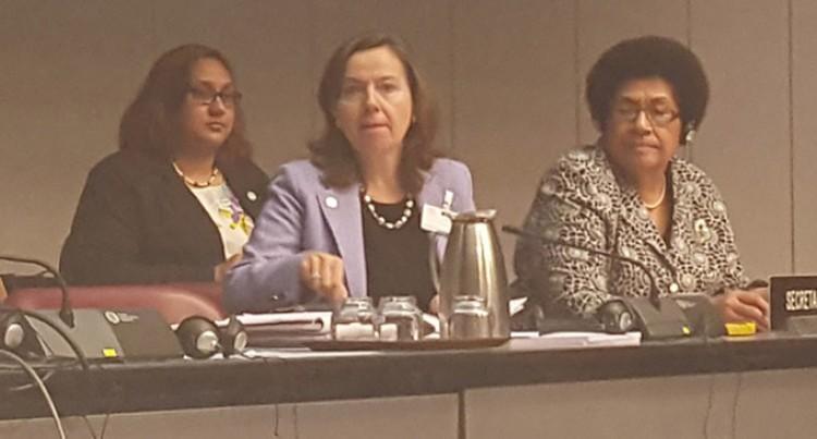 Speaker Chairs Debate In Geneva