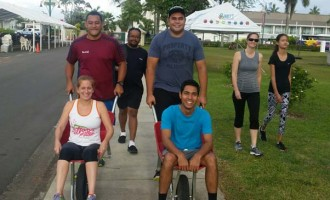 Wheelies Touch Base With Beneficiaries