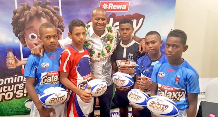 Flying Fijian Giving Back To Community