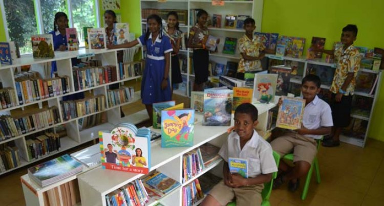 New Library Boosts  Children's Learning Mode