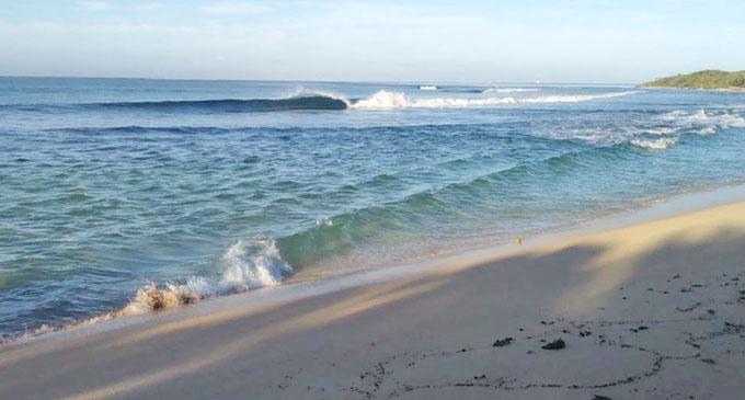 Natadola Beach. Photo: Fiji Surfing Association.
