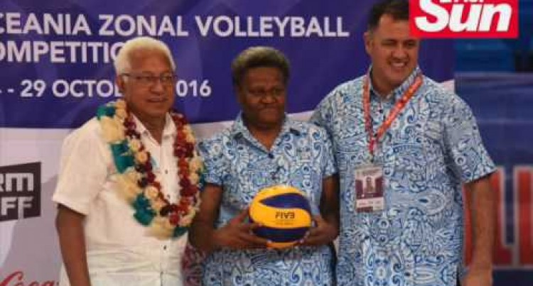 Oceania Volleyball World Cup Qualifiers  Opening Ceremony