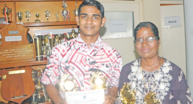 Maths Genius Thanks Parents, Teacher For Success