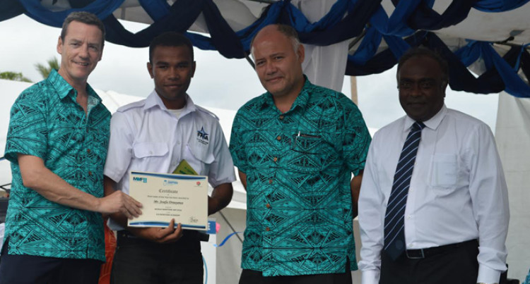 Drauyawa Named Best Deck Cadet of the Year