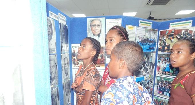 Vanua Levu Students Visit Parlt