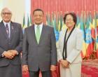 President Meets Ethiopian Counterpart