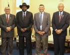 President Konrote Is The First To Officially Meet South Sudan Counterpart After 2011