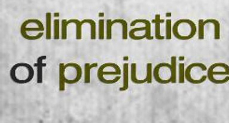 Eliminate Prejudice, Let's Respect All Cultures