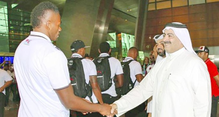 Warm  Welcome  For Our  Champs  In Qatar