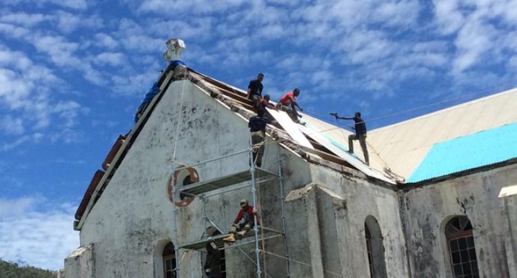Former Cawaci Students Returns To Ovalau To Rebuild School
