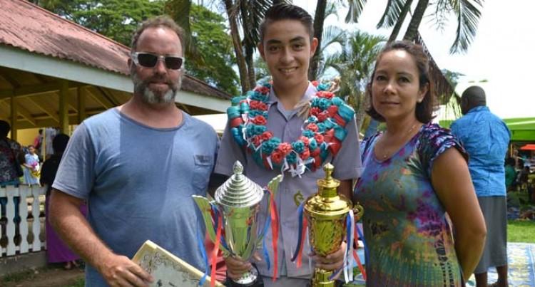 Aussie Boy Excels At Labasa Primary
