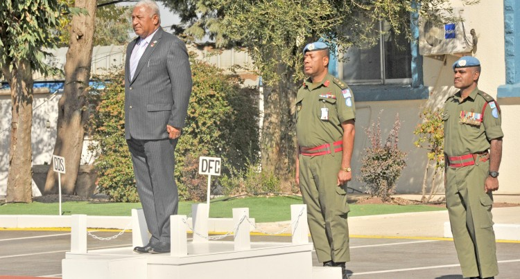 PM Gets Big Welcome in Golan Heights